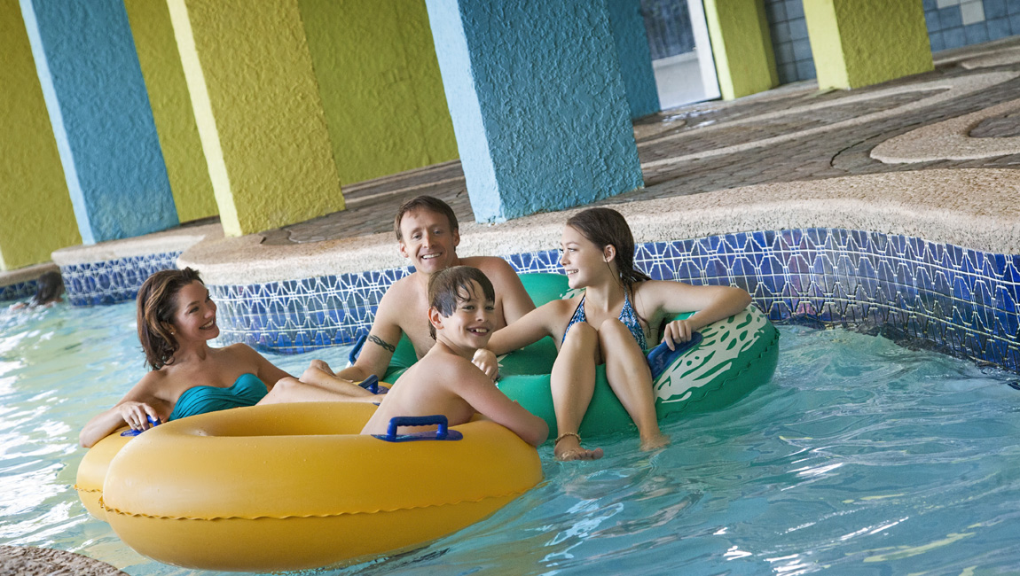 Myrtle Beach Hotel Indoor Lazy River Ride