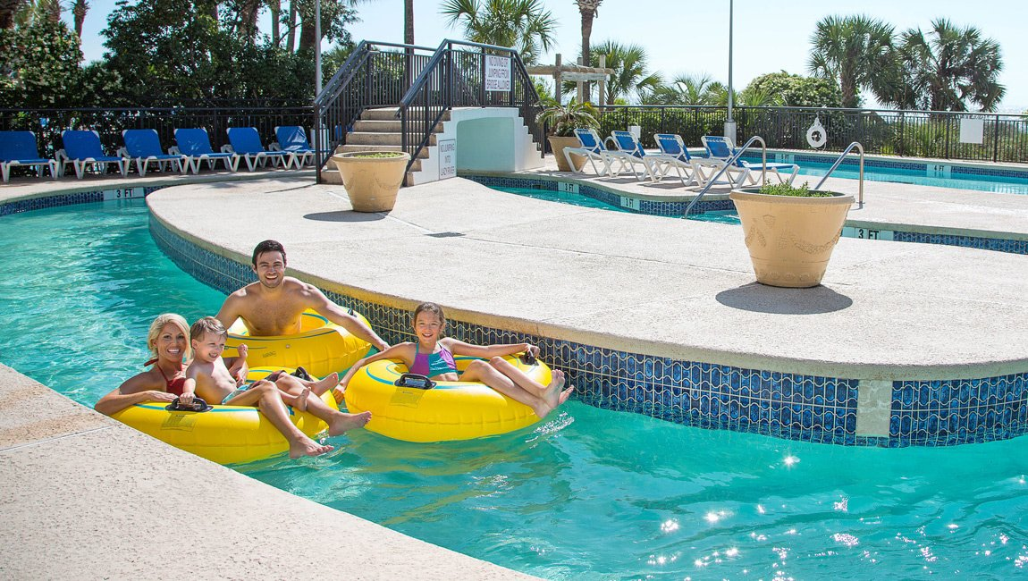 Outdoor Lazy River Myrtle Beach