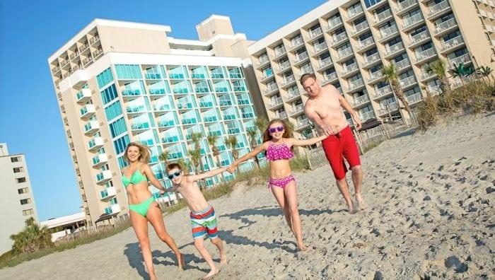 Captain's Quarters Family Beach Vacation
