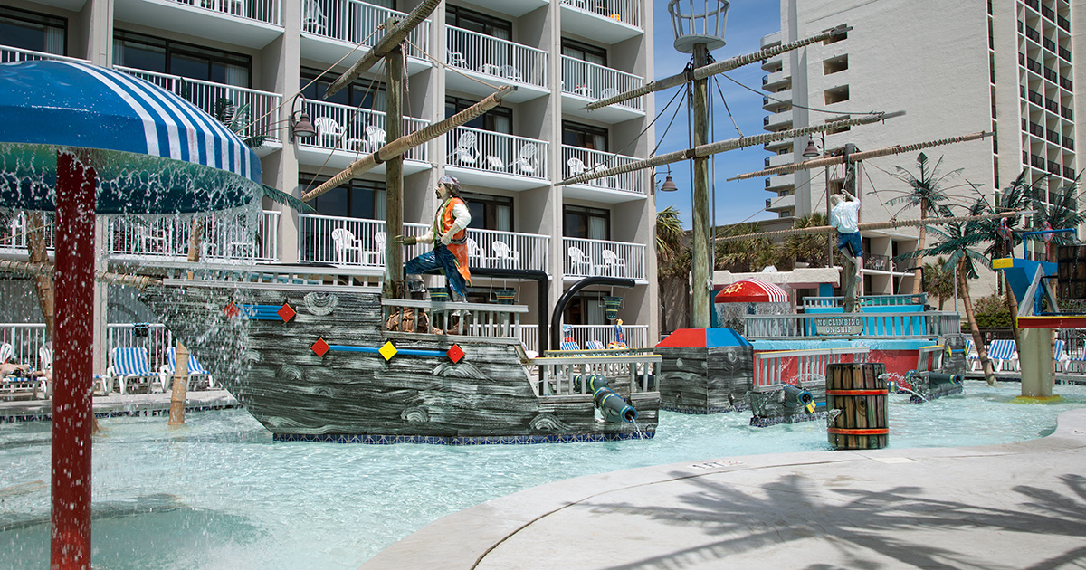 A Family Friendly Resort Oceanfront Hotel In Myrtle Beach