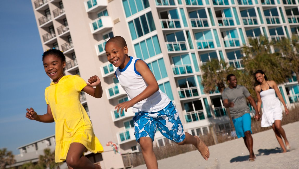 Myrtle Beach kid friendly resort